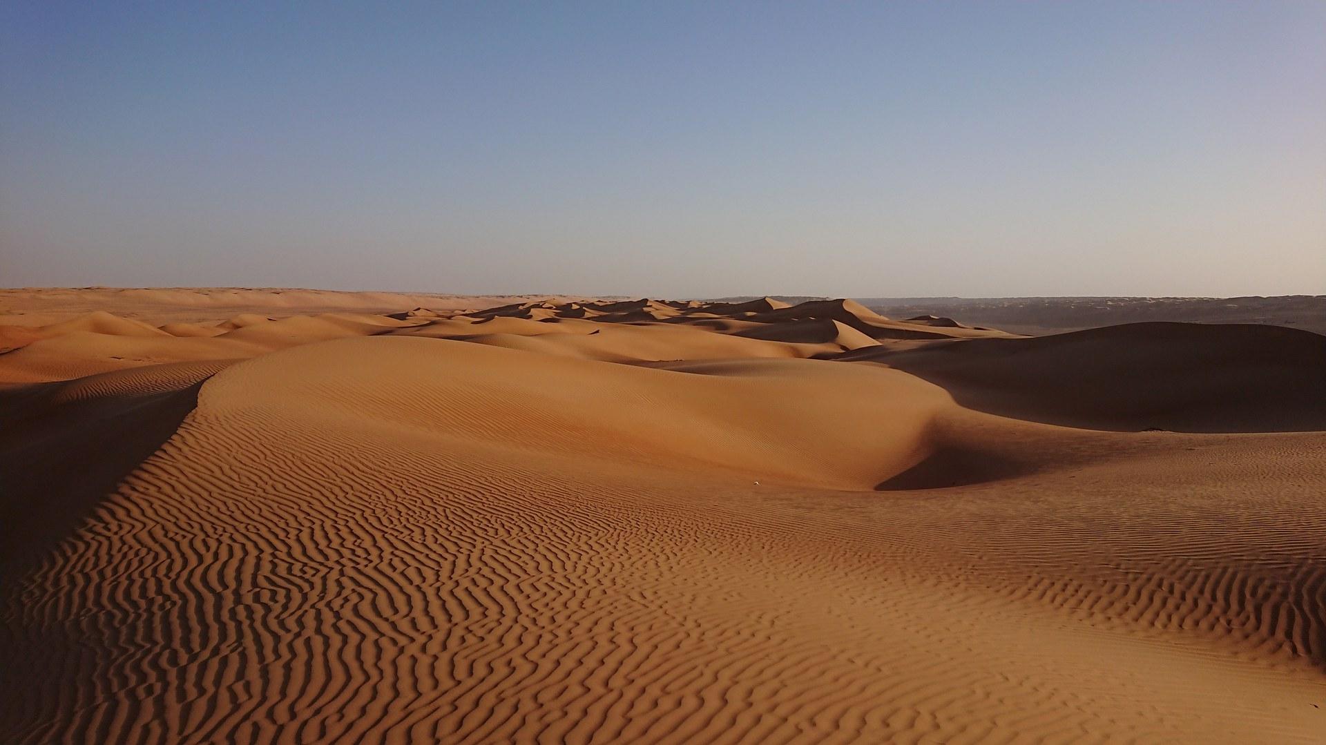 Weite Teile Omans sind heute sehr trocken.
