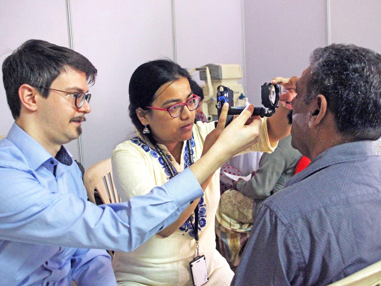 bytes4diabetes Sonderpreis für Smartphone-basiertes, telemedizinisches Augen-Screening in Indien: