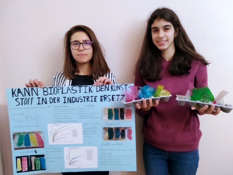 Boyana Ruseva (16) und Lozena Dontcheva (16)