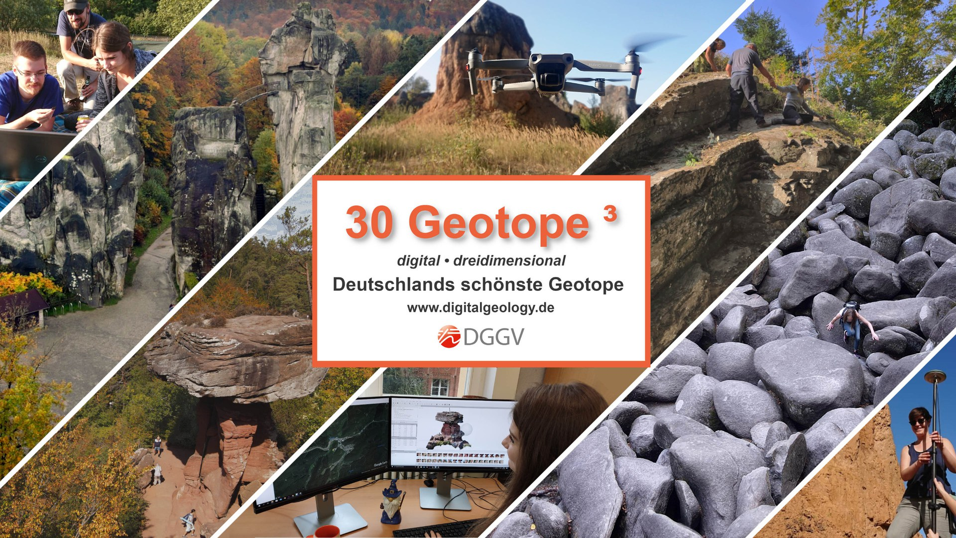 Deutschlands 30 schönste Geotope