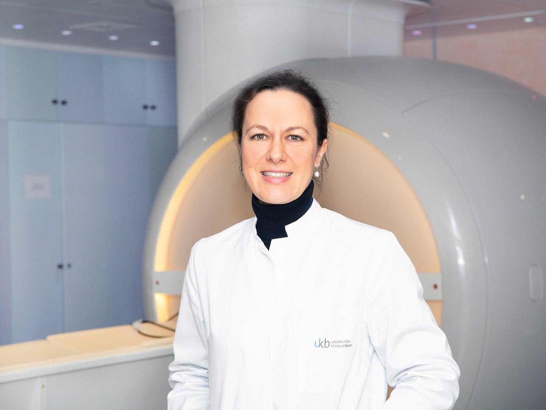 Spezialistin für high-end Bildgebungsverfahren in der Krebsdiagnostik: