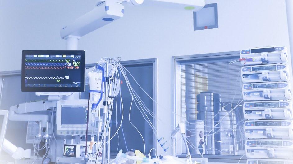 Pressebild: Das medizinisch induzierte Koma