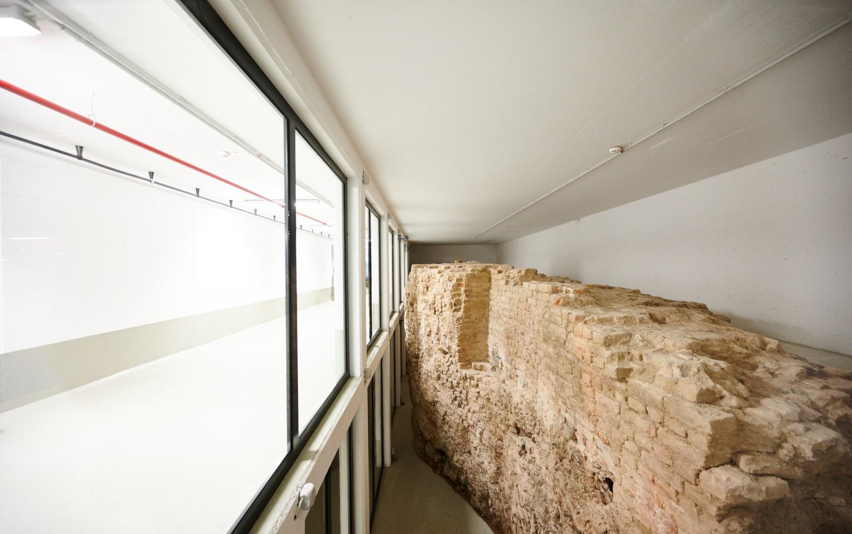 Historische Mauer