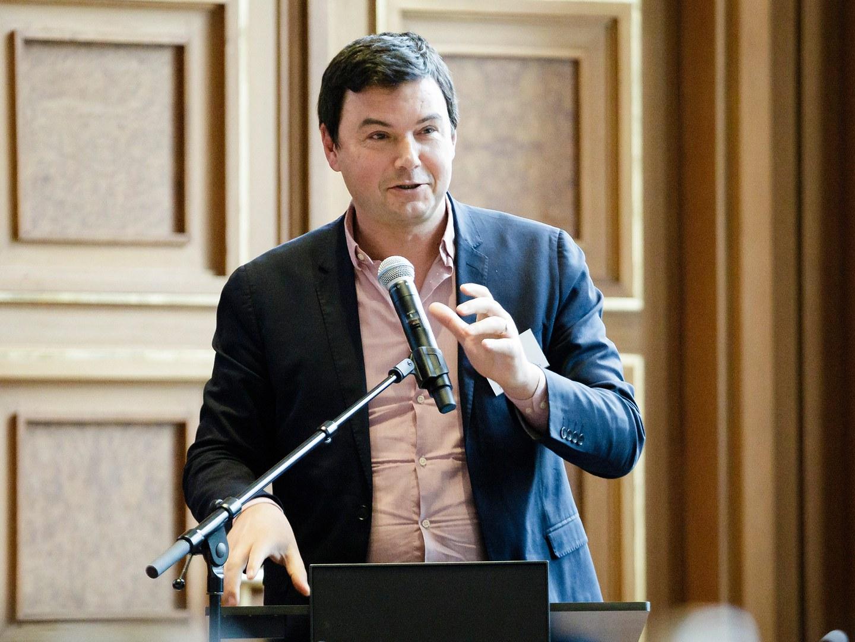 Der französische Wirtschaftswissenschaftler Thomas Piketty,