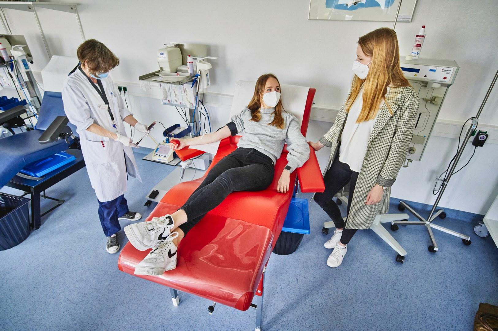 Medizin-Studierende rufen deutschlandweit zur Blutspende auf: