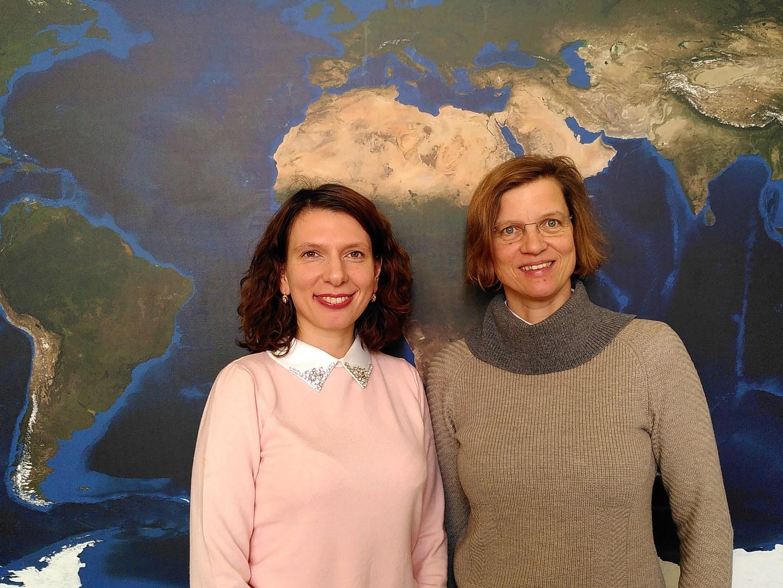 Die beiden Antragstellerinnen des neuen Projekts zur funktionellen Biodiversitätsforschung: