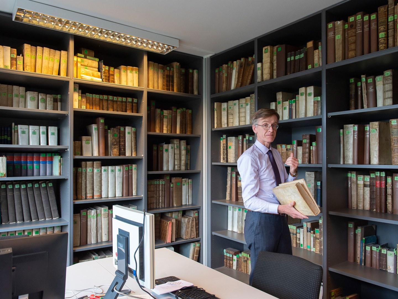 Die Bibliothek des Instituts