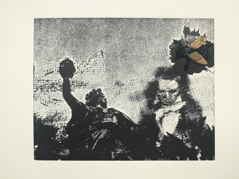 Ein Werk der Ausstellung im Universitätsmuseum, hier der mexikanischen Künstlerin Elisa Suarez