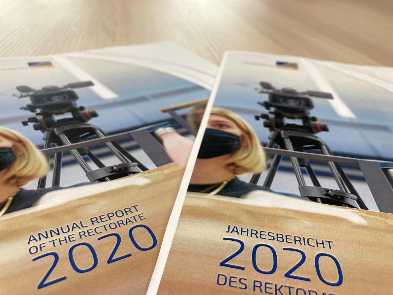 Der Jahresbericht 2020 der Universität Bonn ist veröffentlicht