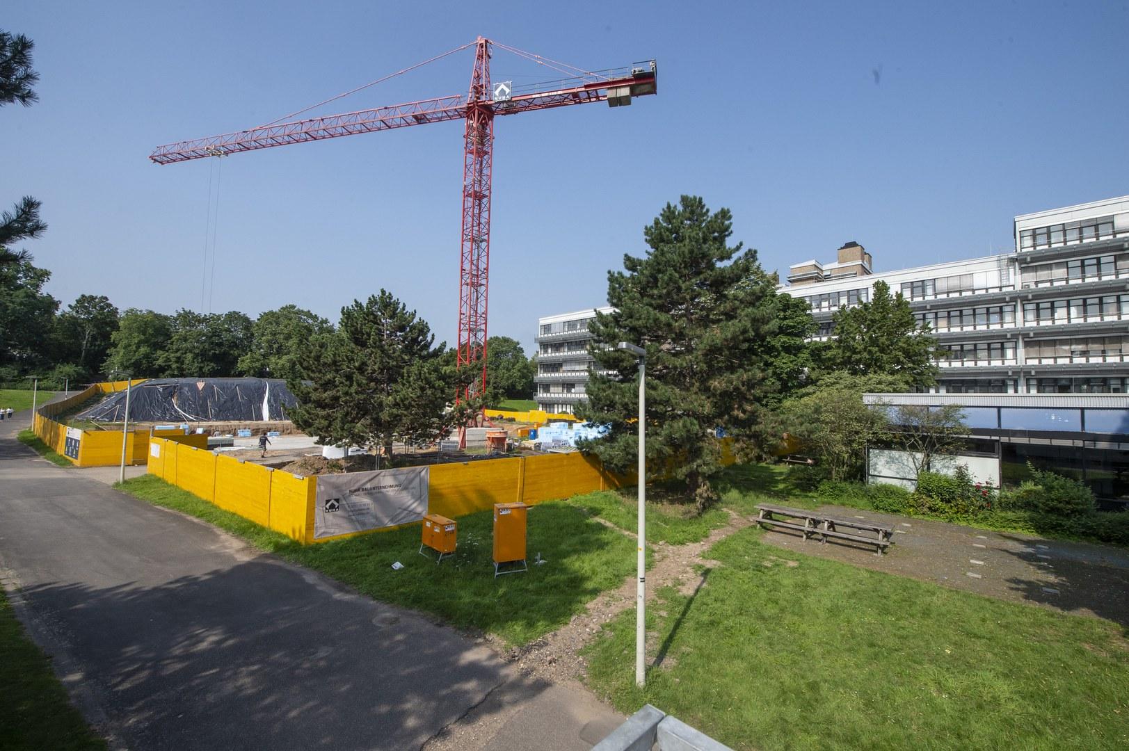 Auf dem Campus Endenich entsteht ein Ersatzneubau für die Chemischen Institute,