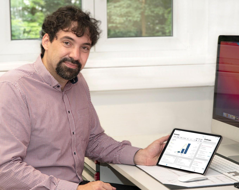 Prof. Stephan Jonas leitet das neu gegründete Institut für Medizininformatik am Universitätsklinikum Bonn: