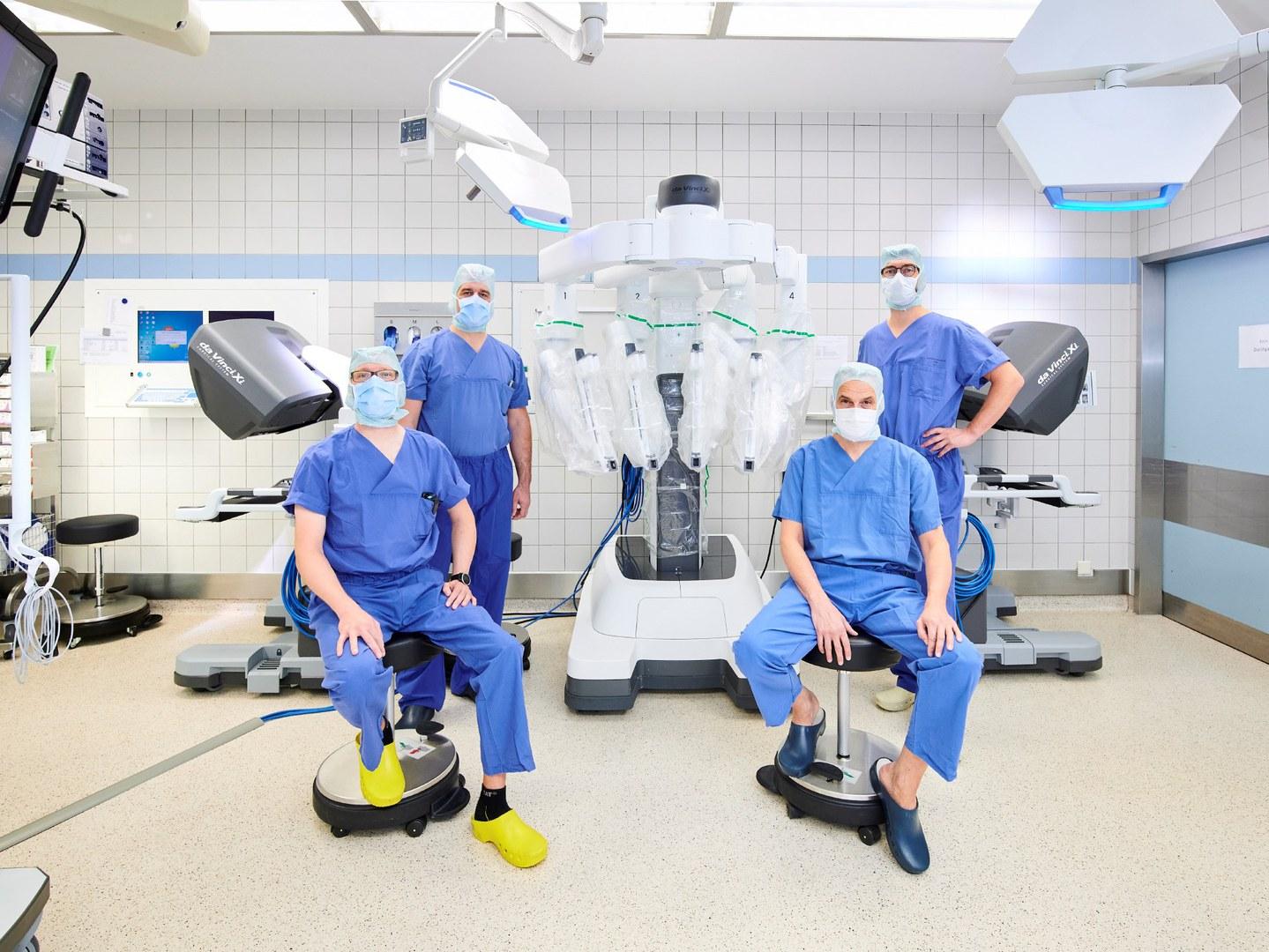 Modernstes Da Vinci Roboter-System am Universitätsklinikum Bonn: