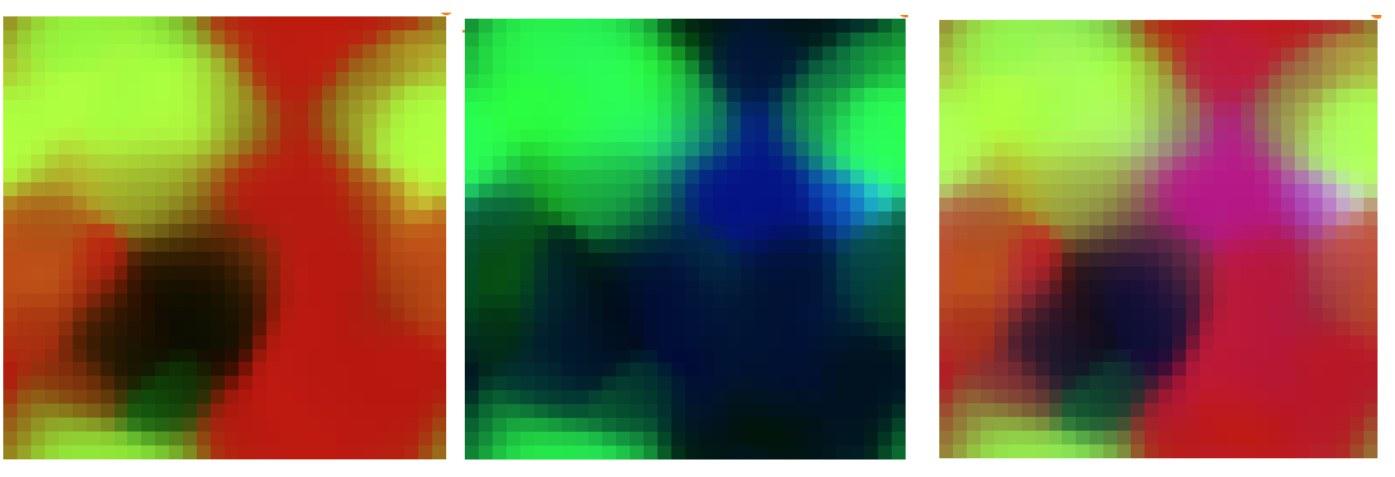 Darstellung der durchflusszytometrischen Daten,
