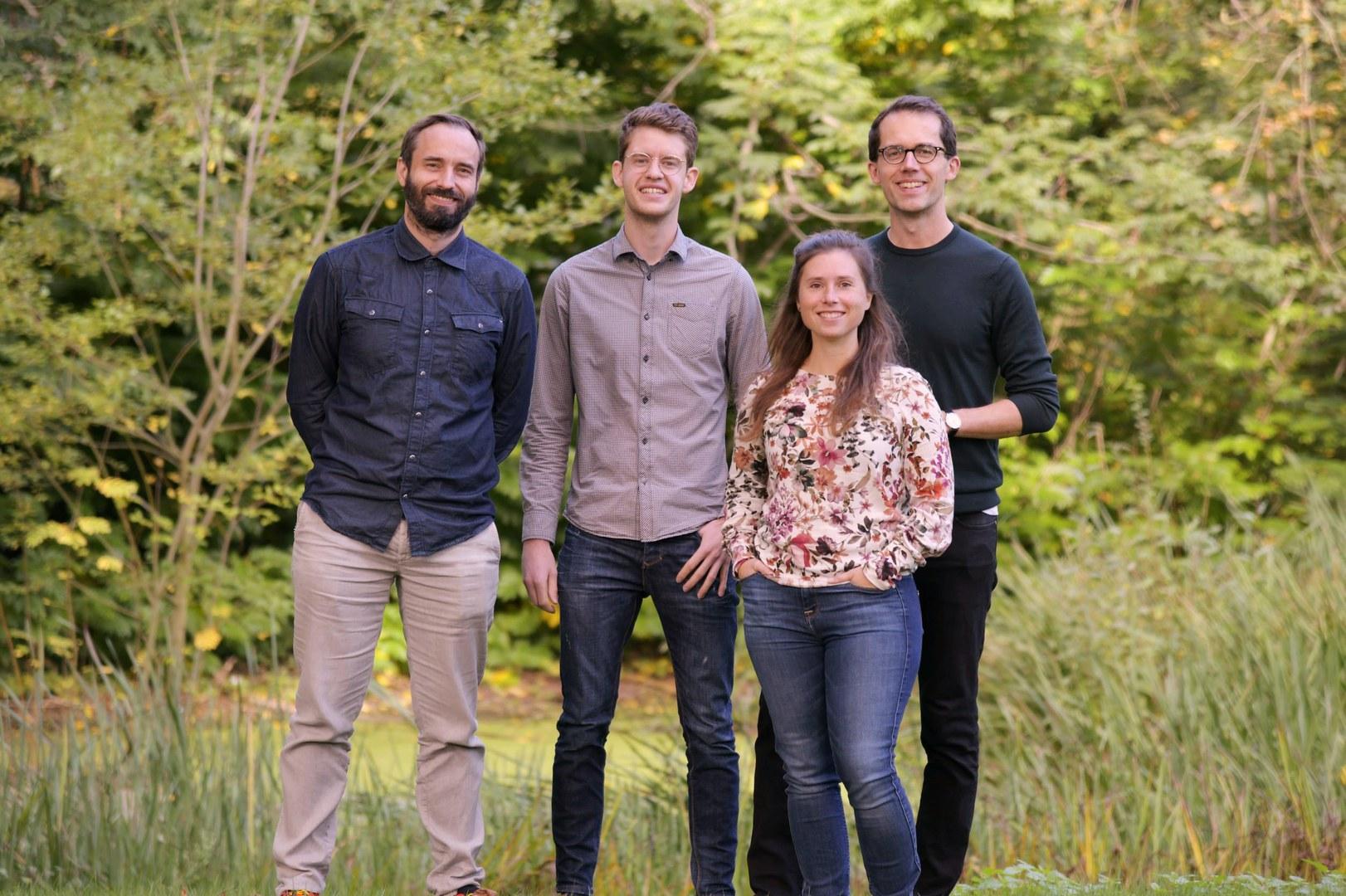 Das Team zum Projekt FishFlow an der Universität Bonn (von links):