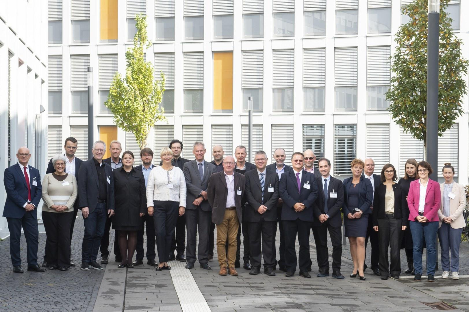 Treffen des Hochschulverbundes NeurotechEU