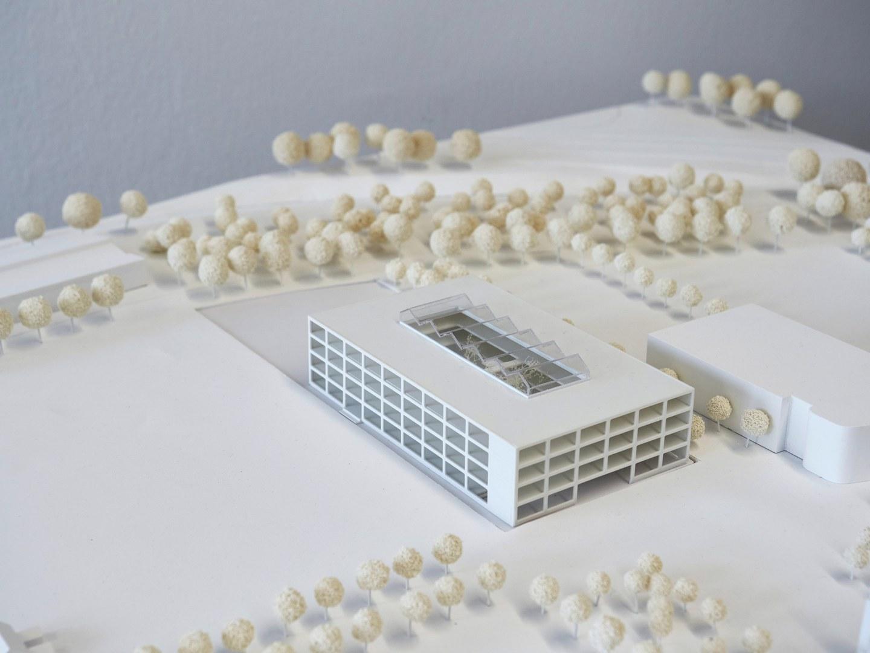 Den Anerkennungspreis erhält der Entwurf des Büros Heinle, Wischer und Partner Freie Architekten