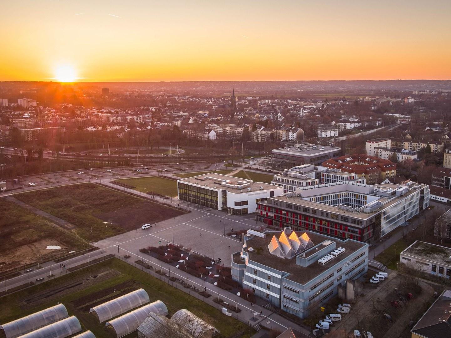 Der zentrale Platz des Campus Poppelsdorf soll der Standort des Lehr- und Forschungsforums werden.