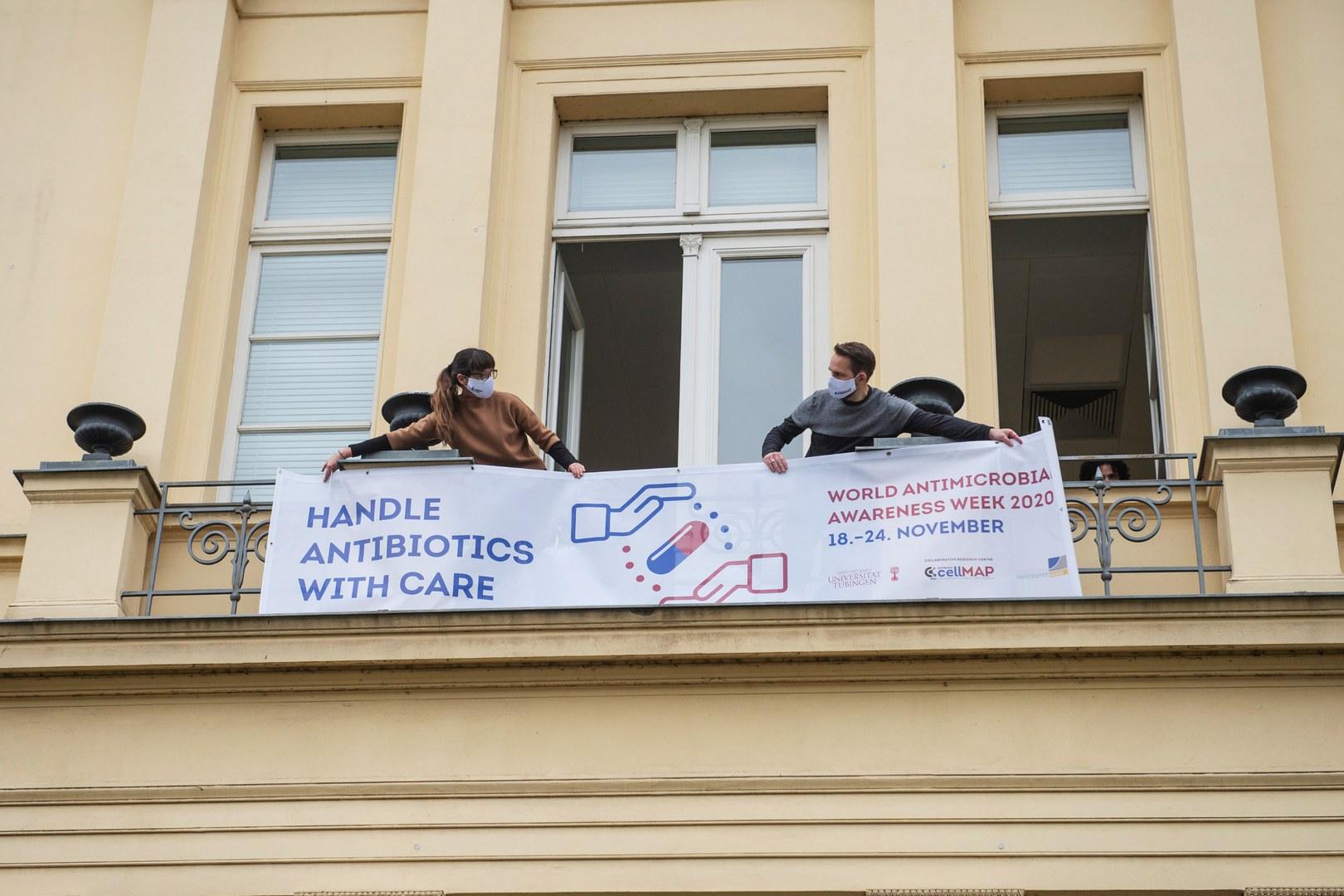 Gemeinsam Flagge zeigen für Antibiotika