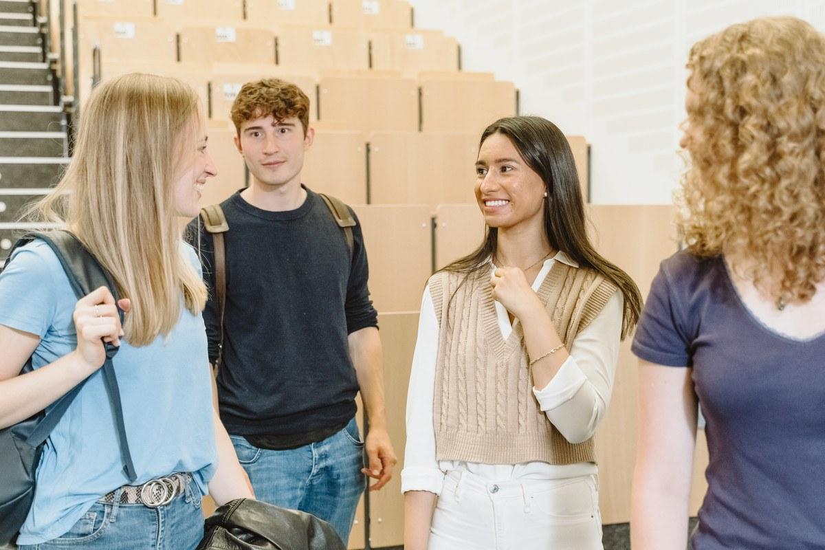 Bei den Orientierungswochen und den Welcome Days sollen die internationalen Studierenden ihre neue Heimat kennenlernen.