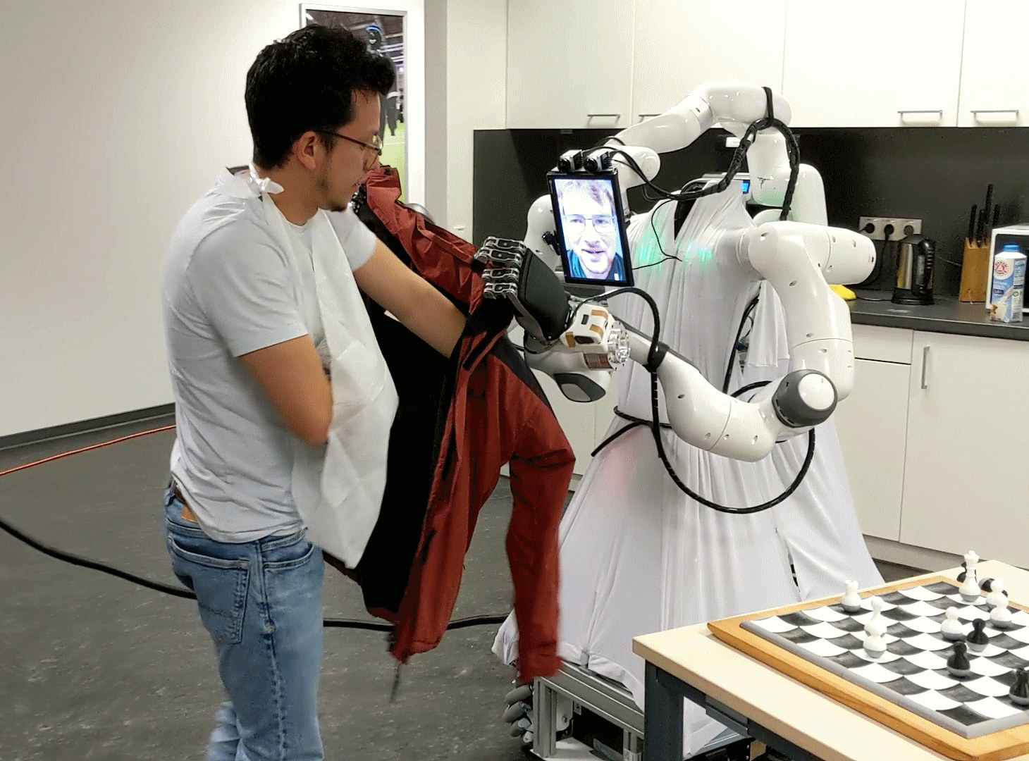 Assistenzroboter der Universität Bonn