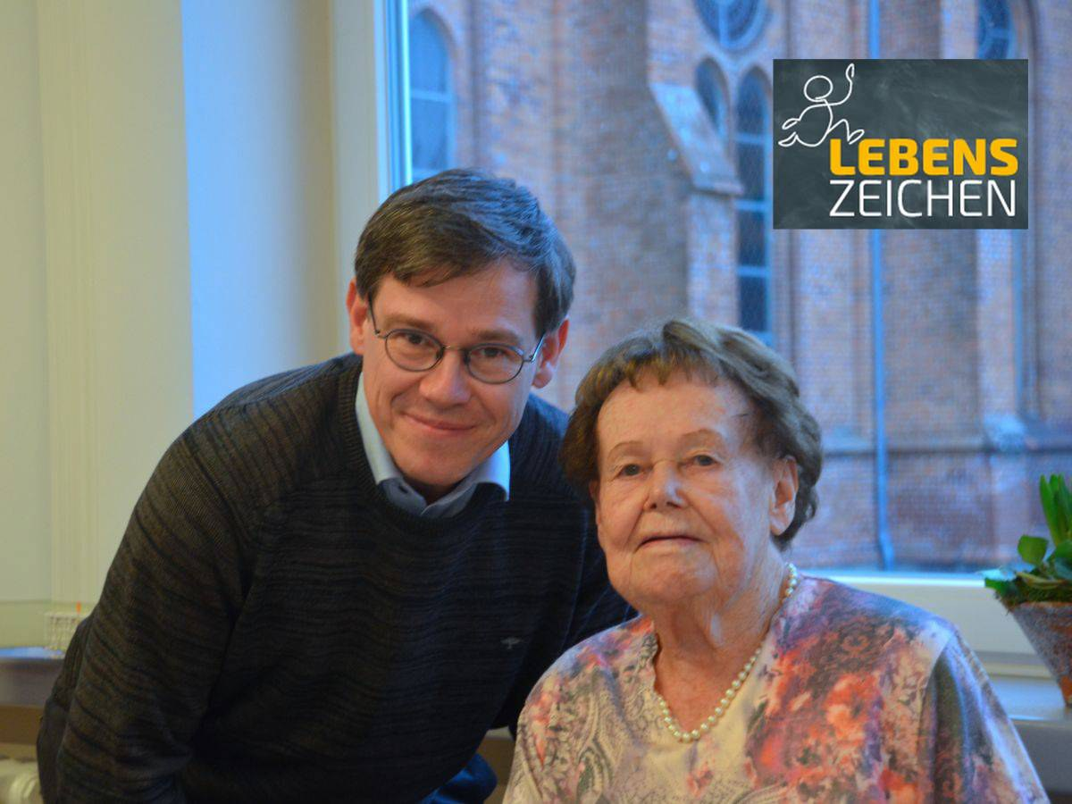 Reinhard Zöllner und seine Mutter