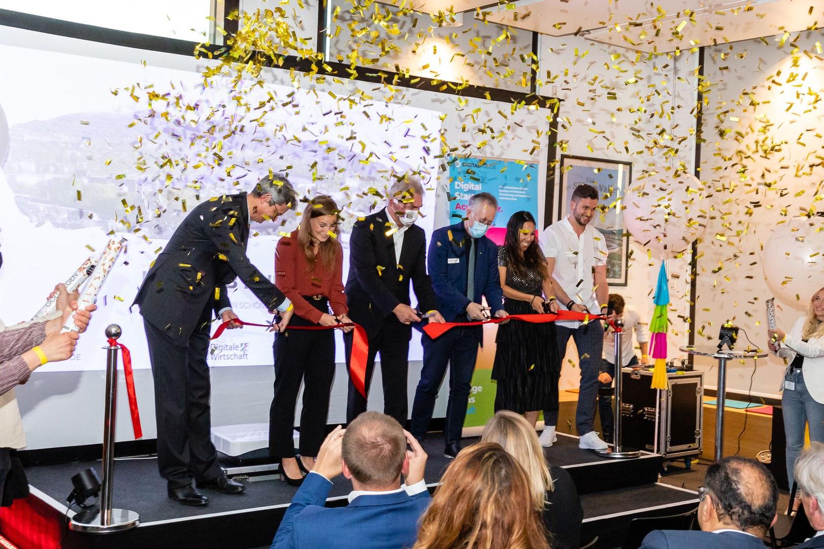 Eröffnung Digital Hub Standort City