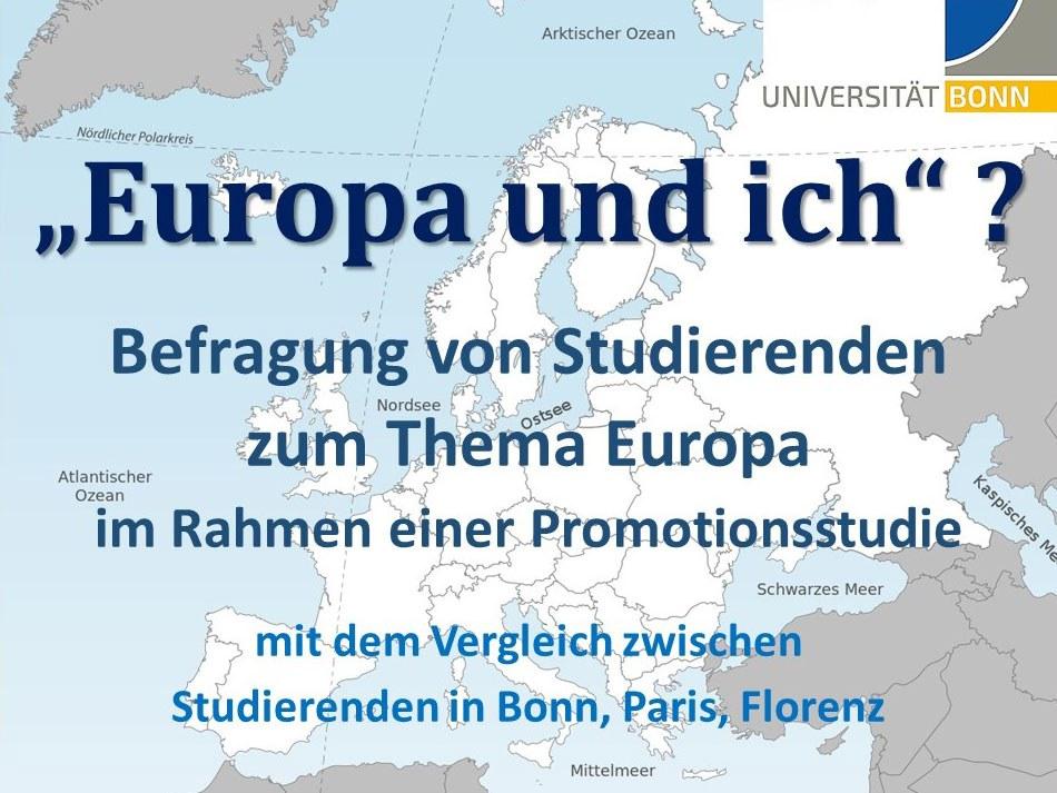 """""""Europa und ich""""?"""
