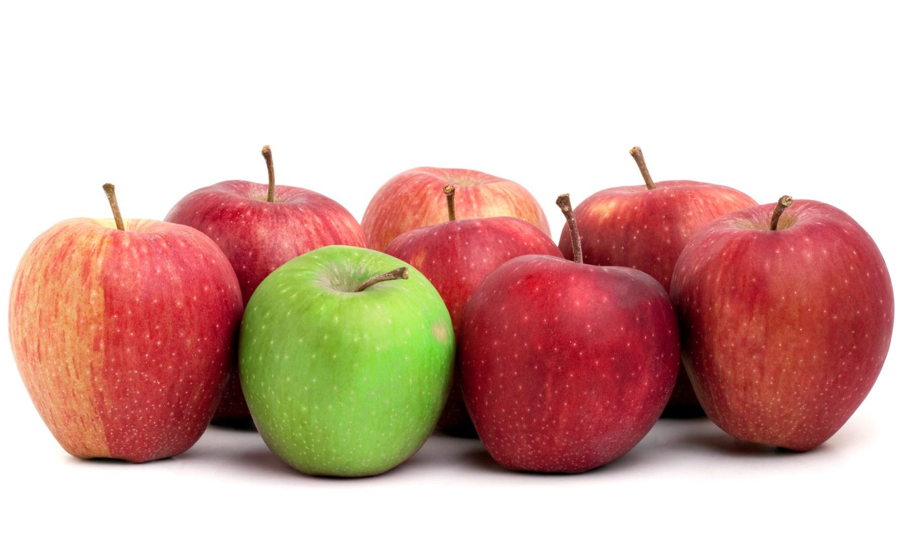 Welchen Apfel soll ich nehmen?