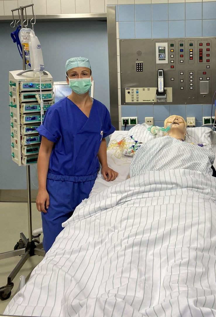 """Corona-Krise"" - Medizin-Studierende helfen in der Krankenversorgung:"