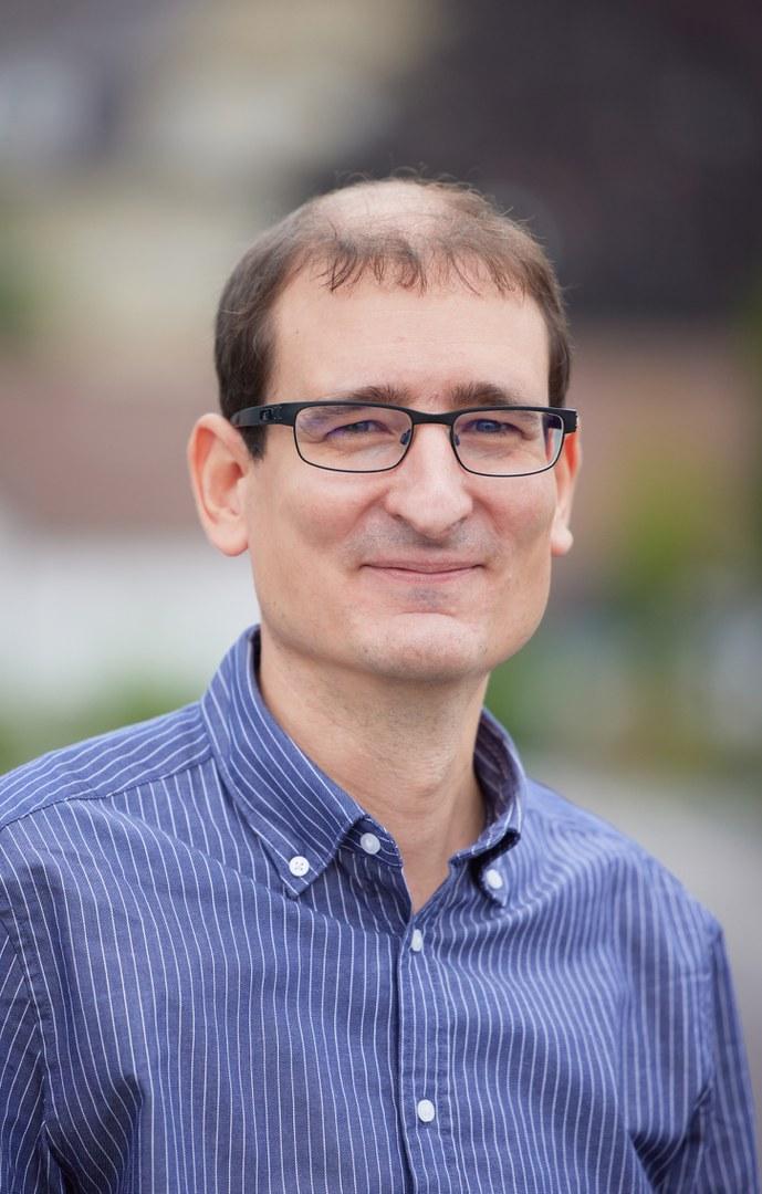 Einer der drei Leiter der Interdisciplinary Research Units: Prof. Dr. Kevin Thurley