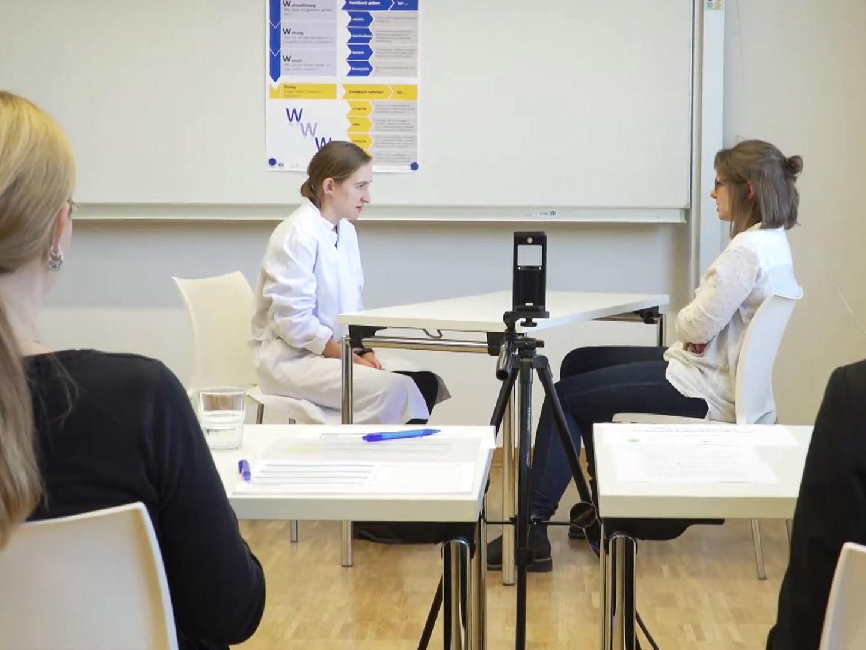 OSCE: Ärztliche Praxis leben in der Prüfung.
