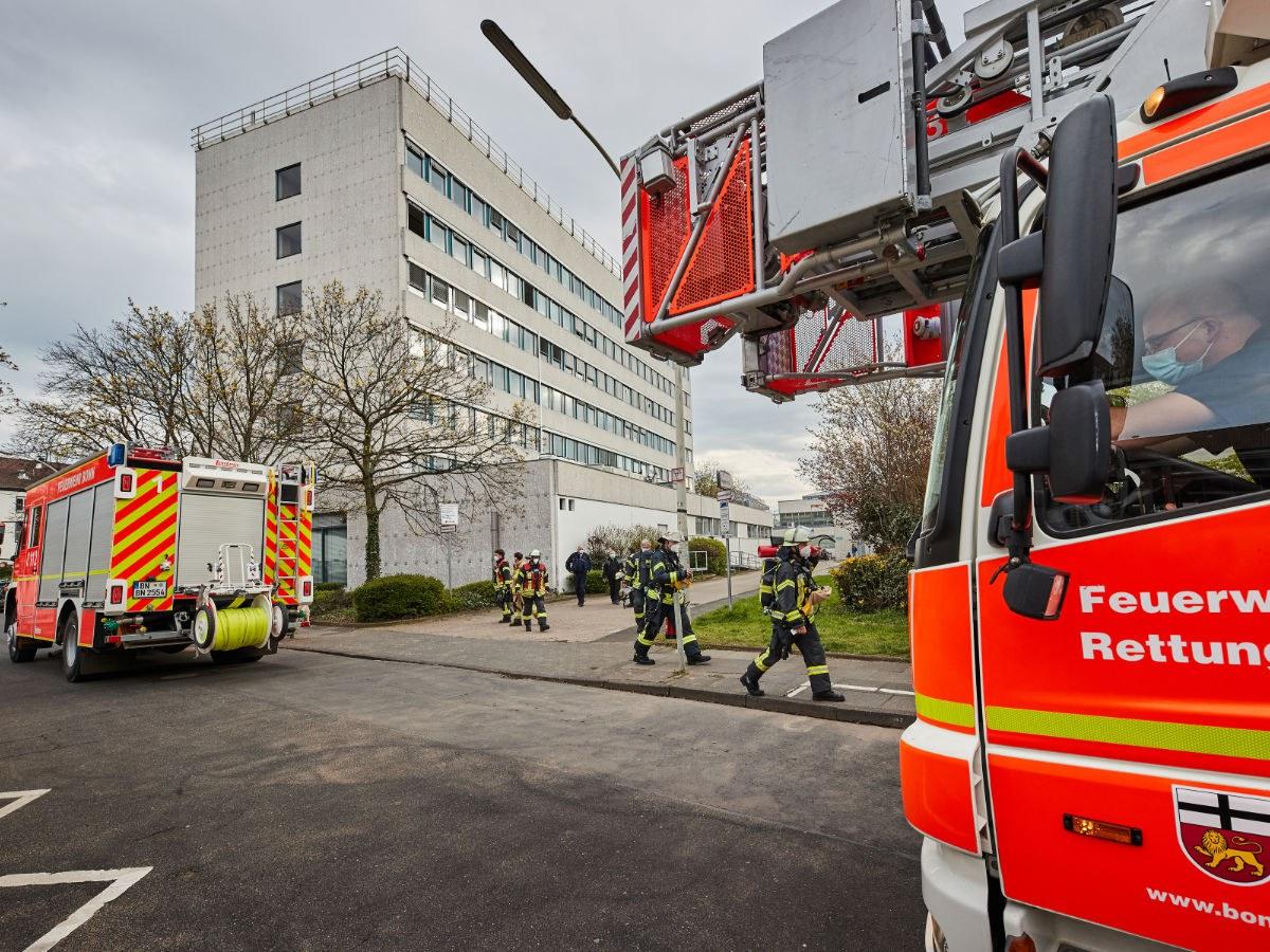Feuerwehreinsatz in Poppelsdorf