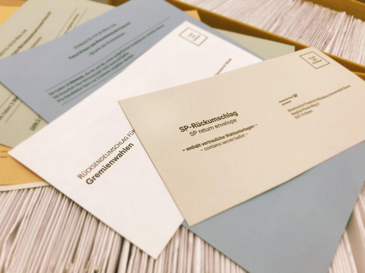 Wahlen zum Studierendenparlament (SP) und den universitären Gremien
