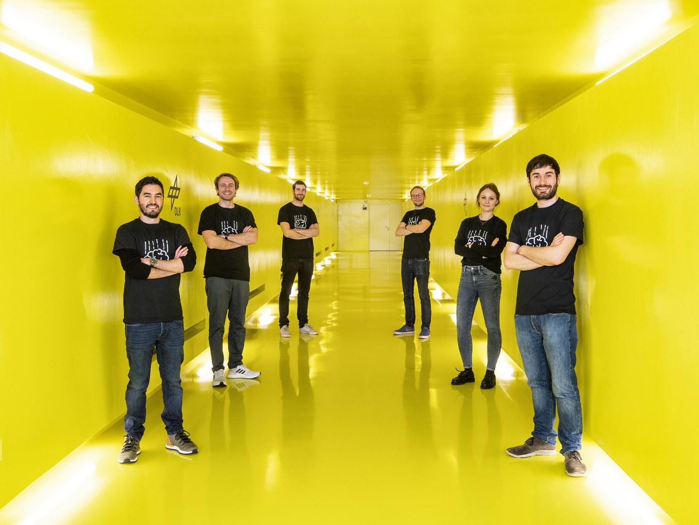 """Die Mitglieder von """"MIND Gravity"""""""