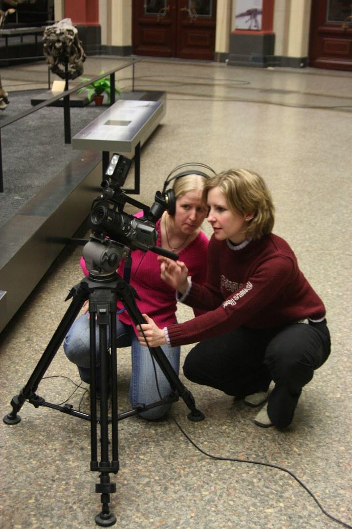 Bild Bonner Studentinnen filmten Forschungs-Tagebuch