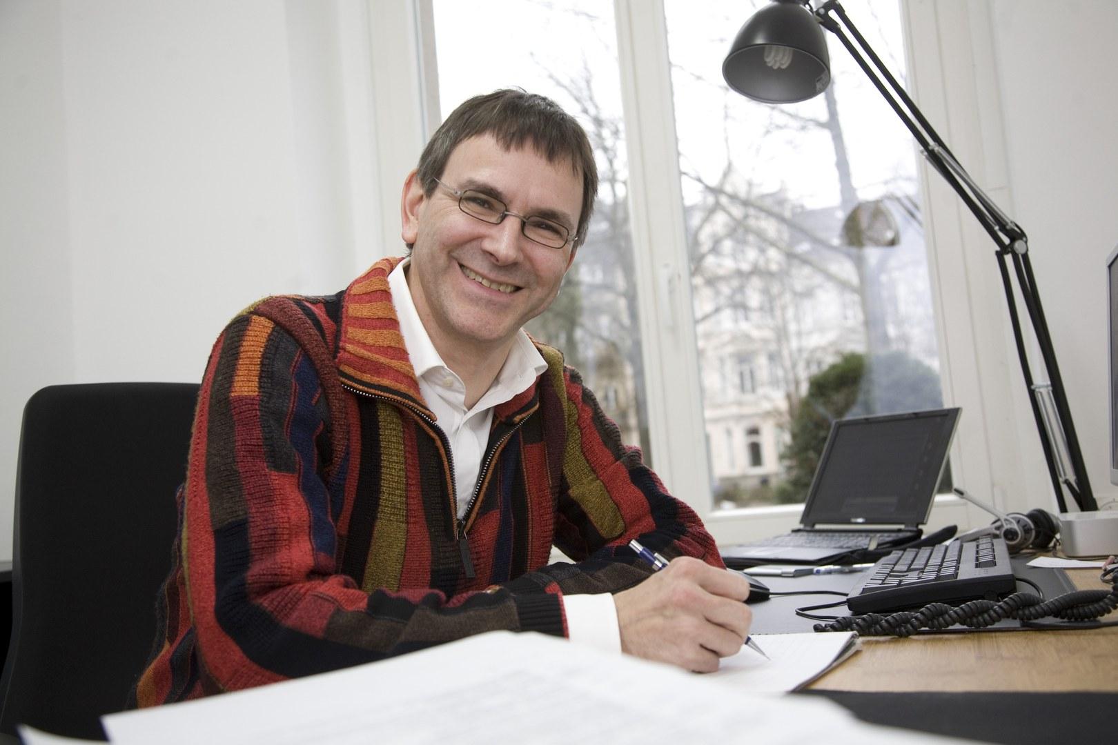 Bild Prof. Dr. Stefan Müller übernimmt ersten Hausdorff Chair