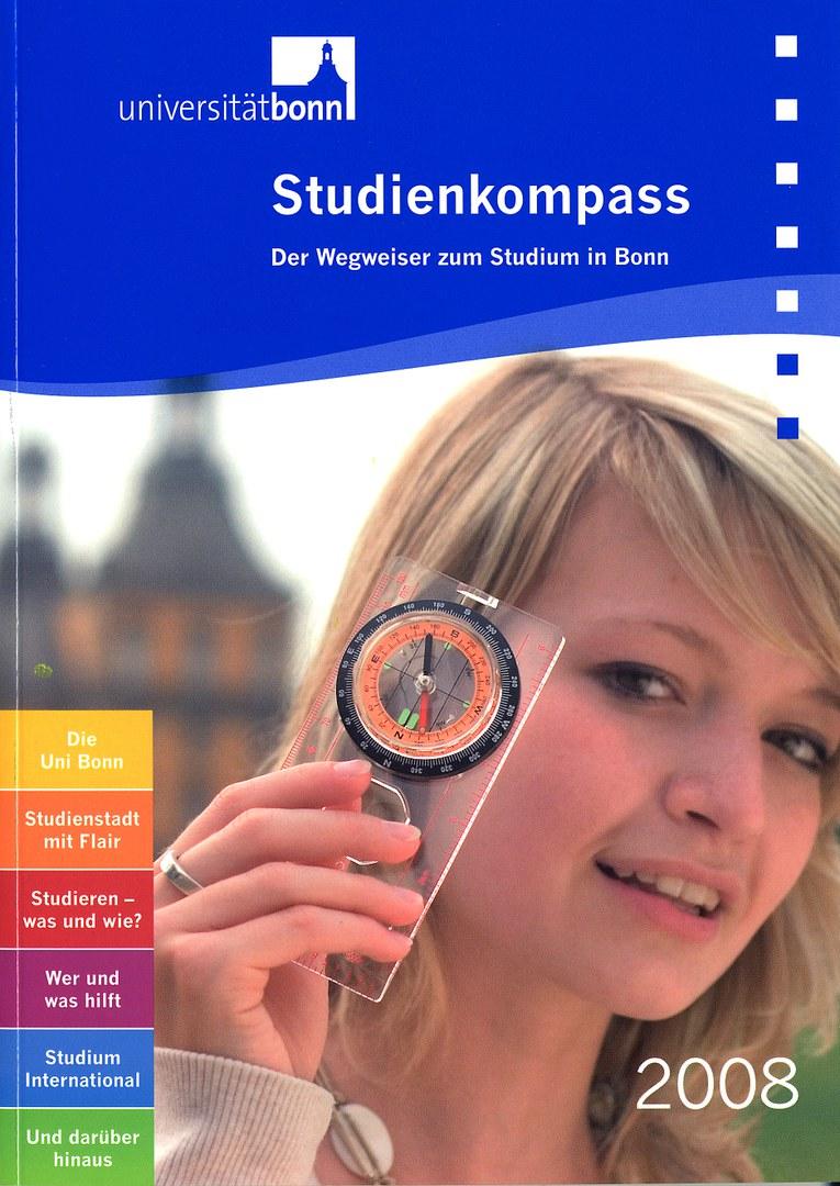 Bild Studienkompass erleichtert Start an der Uni Bonn