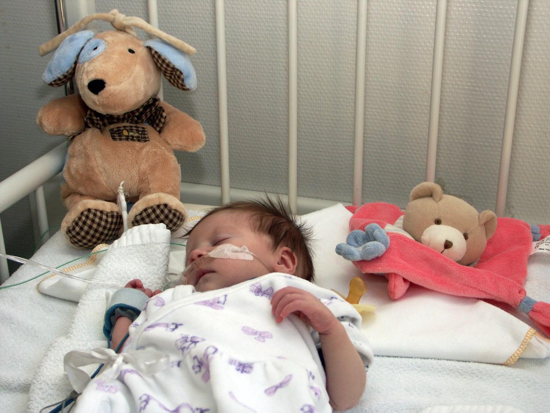 Bild Trick erspart Baby Unterkühlung bei Herz-Operation