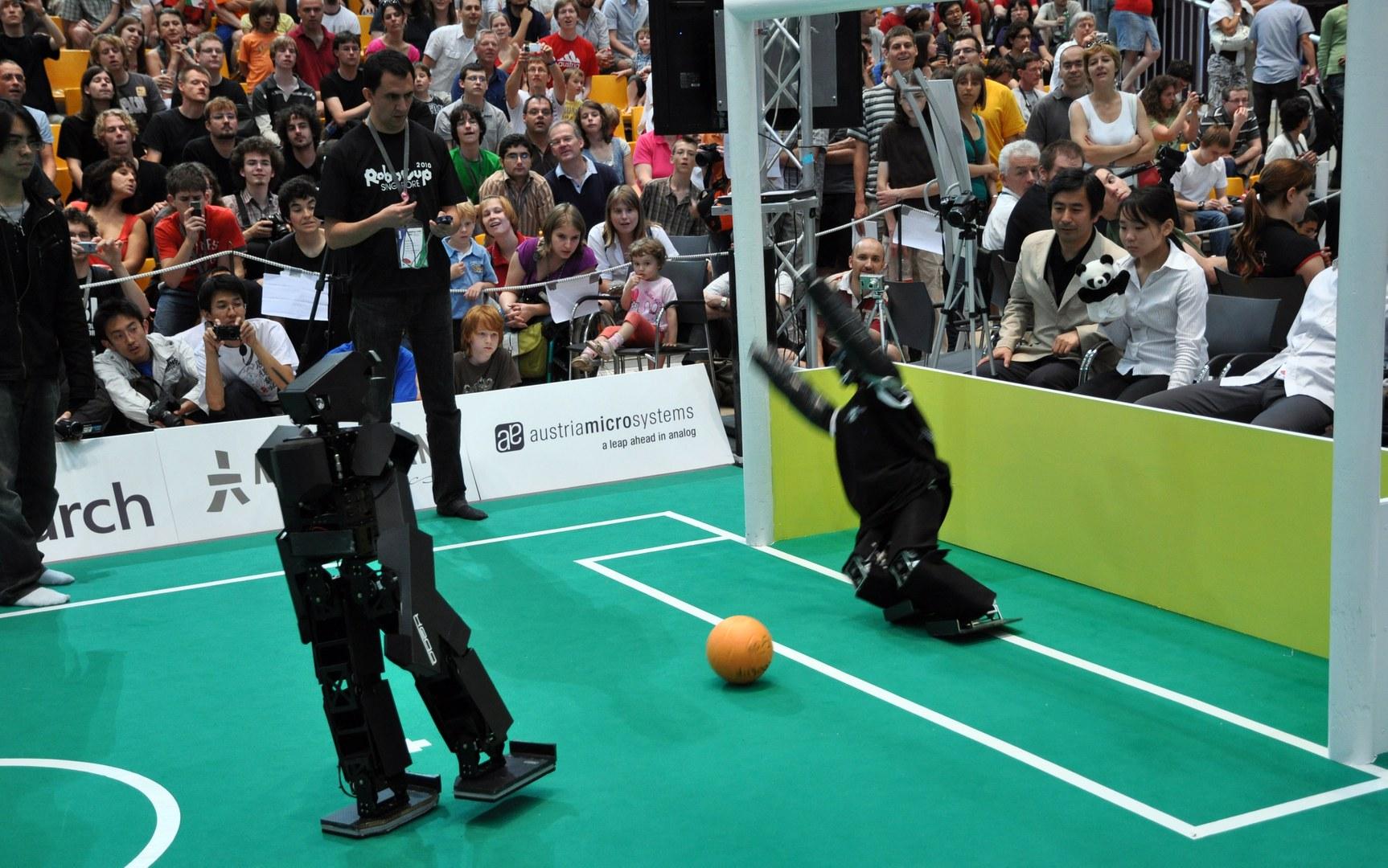 RoboCup_2009_TeenSize_Final_Dynaped_Goalie.jpg