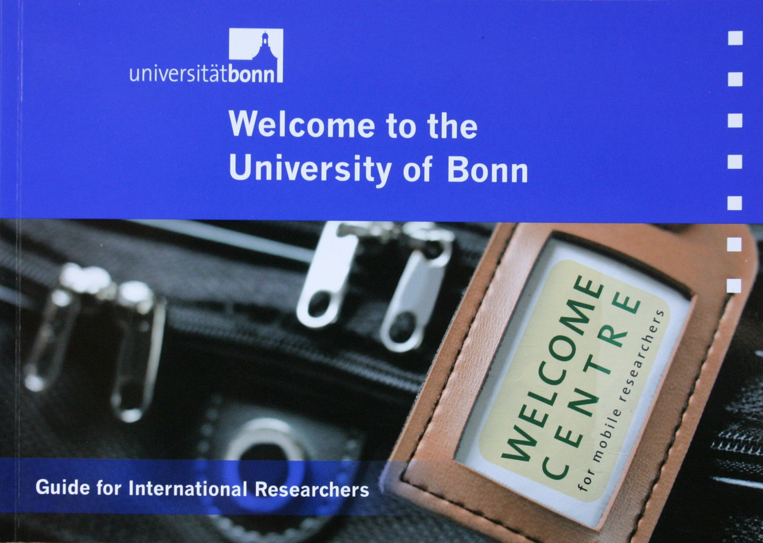 Welcome to the University of Bonn - Guide for International Researchers