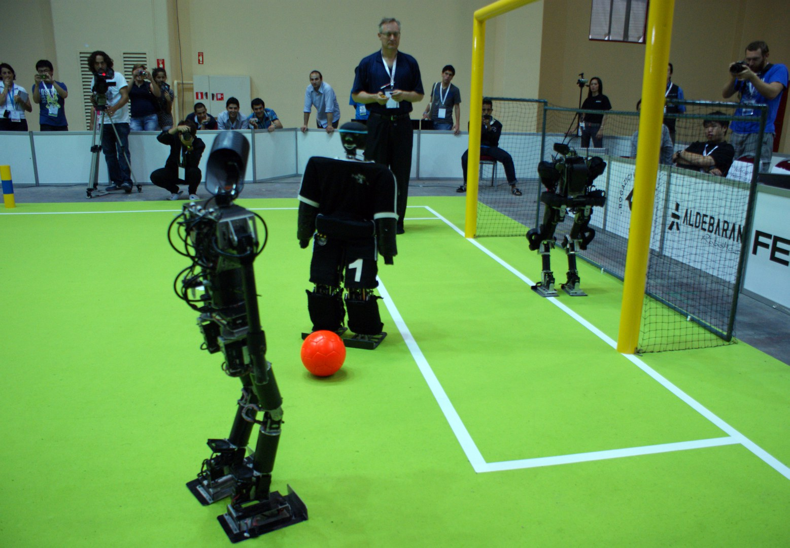 Roboter-WM in Istanbul: