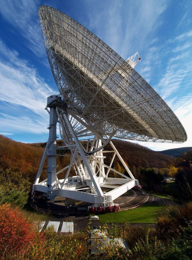 Das Radioteleskop Effelsberg: