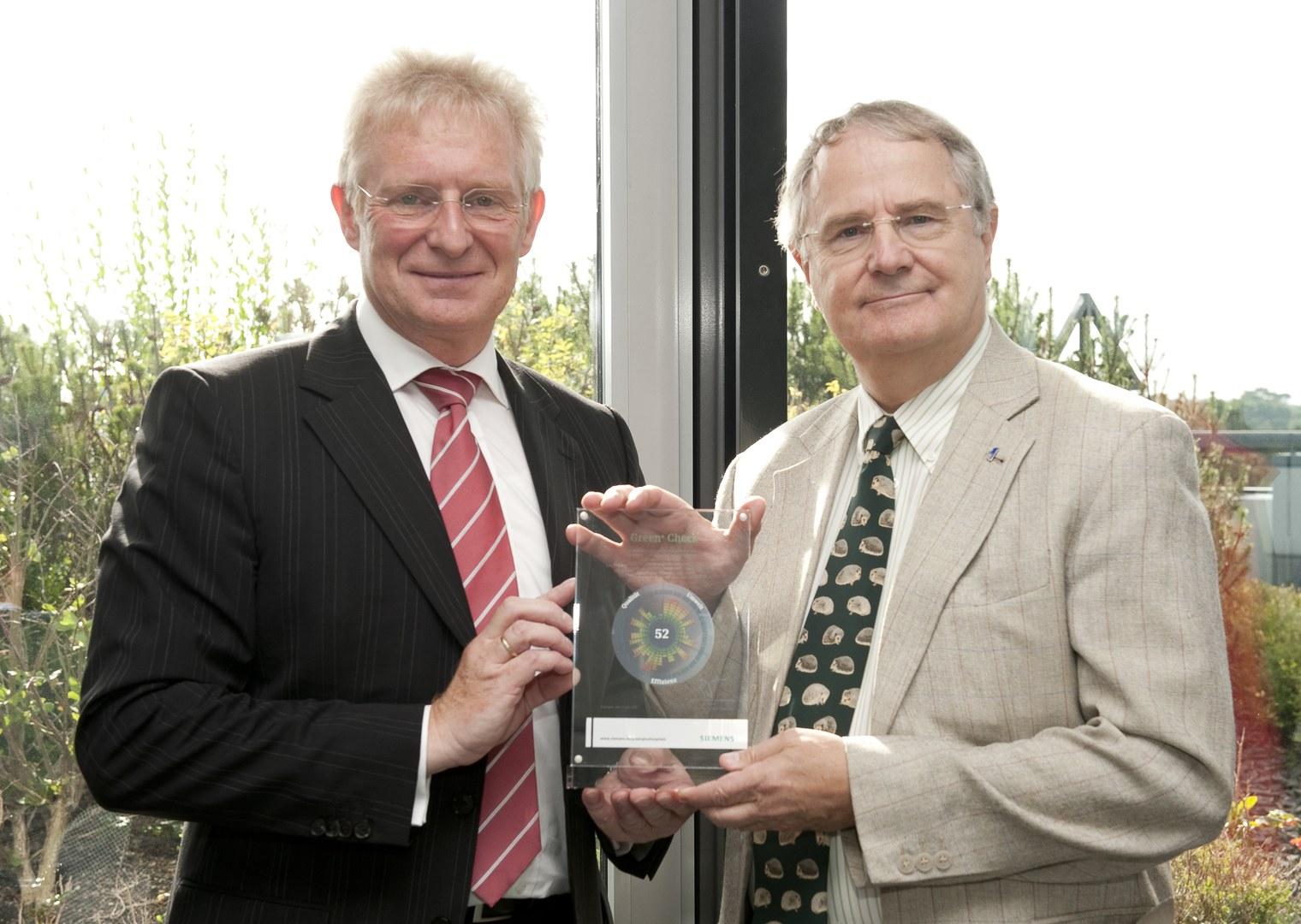 Übergabe des Green-Award; (c) Rolf Müller / Medienzentrum UKB