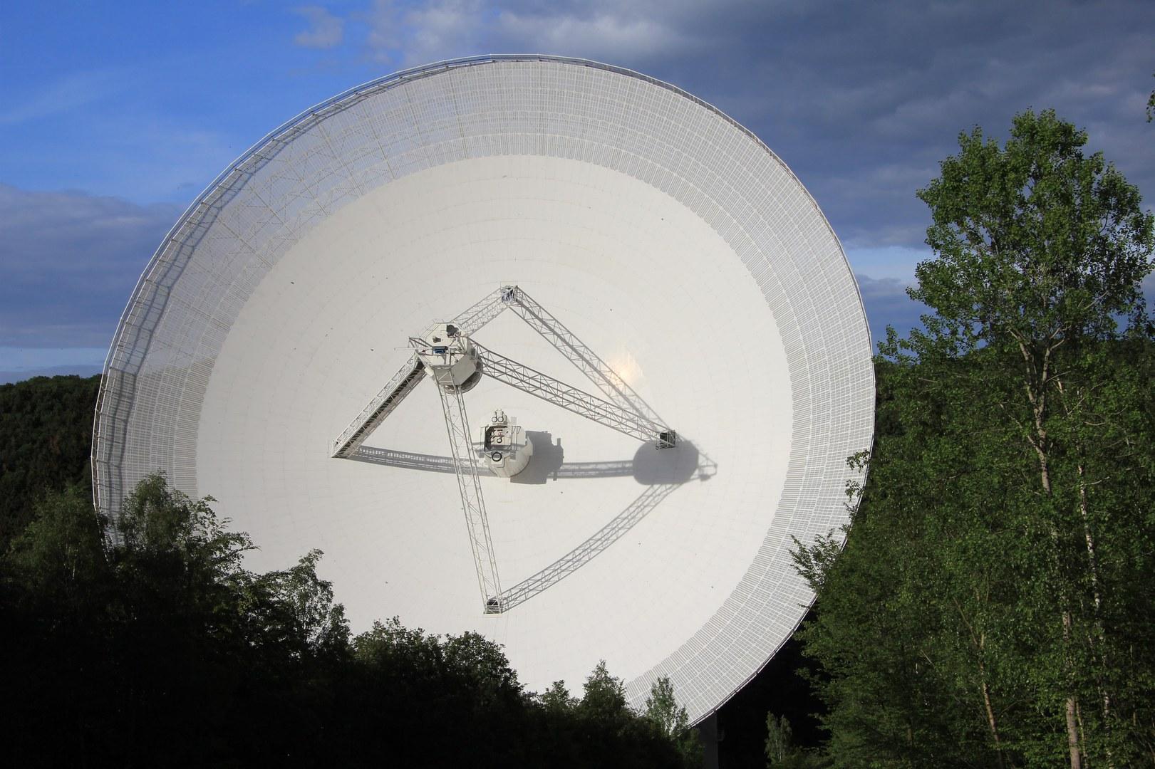 Das 100-Meter-Radioteleskop Effelsberg: