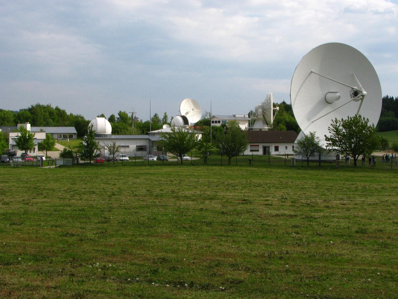 Geodätisches Observatorium Wettzell im Bayerischen Wald: