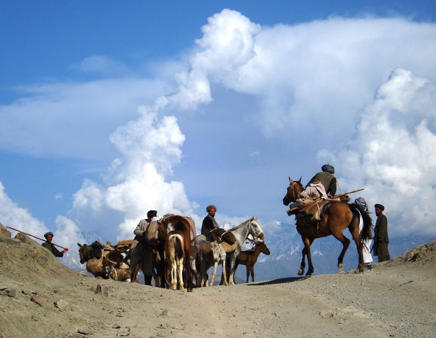 Szene aus Afghanistan: