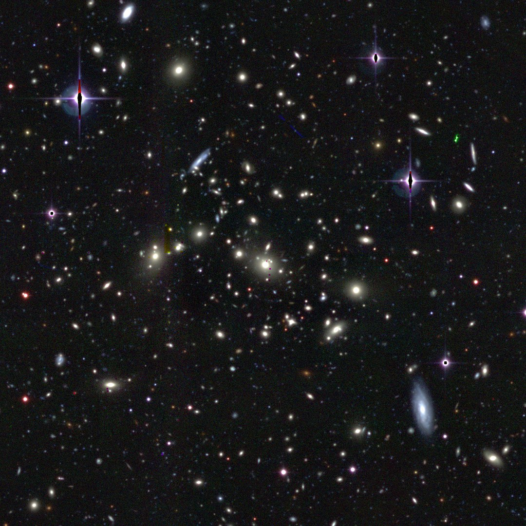 Blick ins Universum: