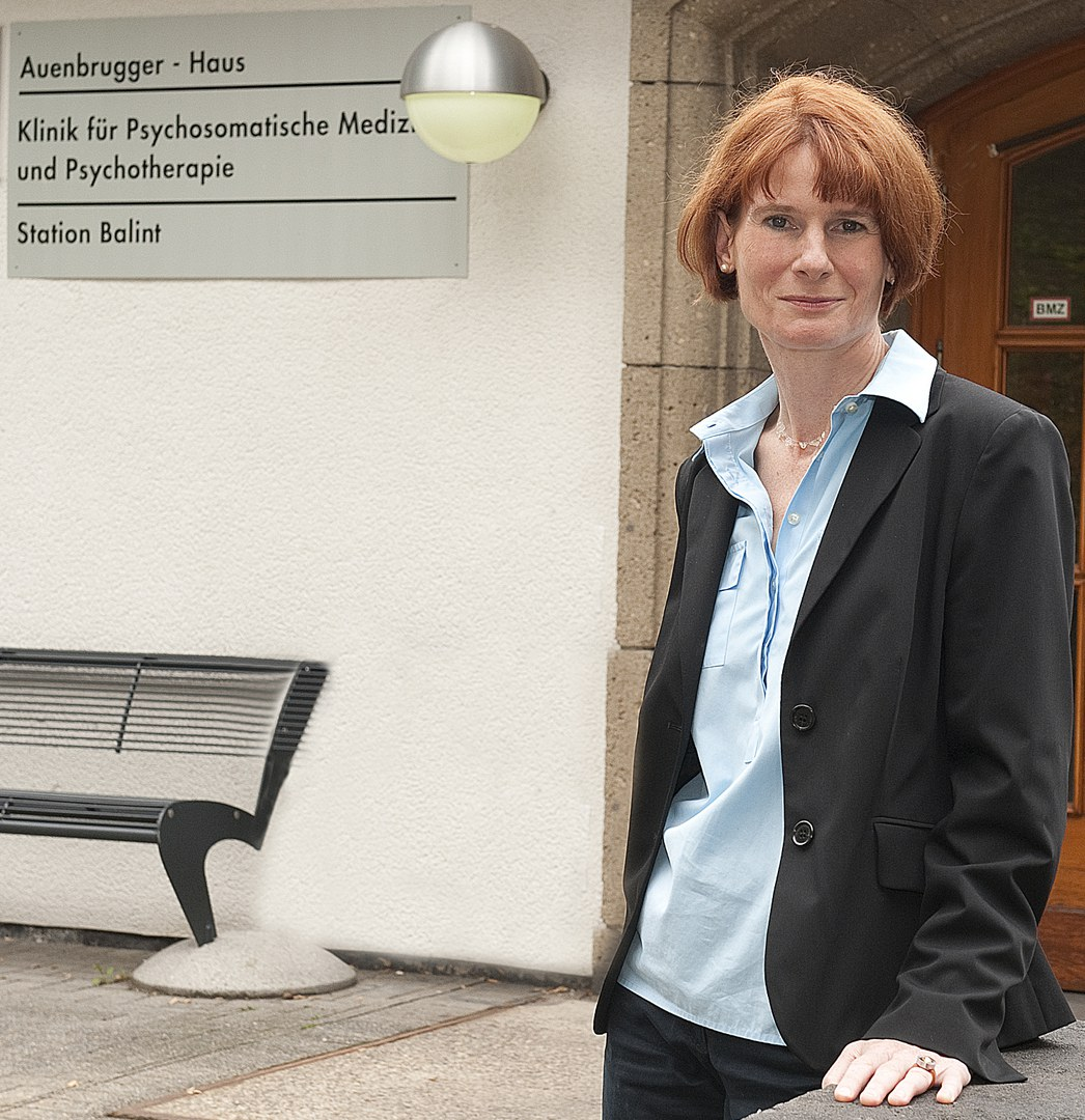 Prof. Dr. Franziska Geiser an ihrem Wirkungsort