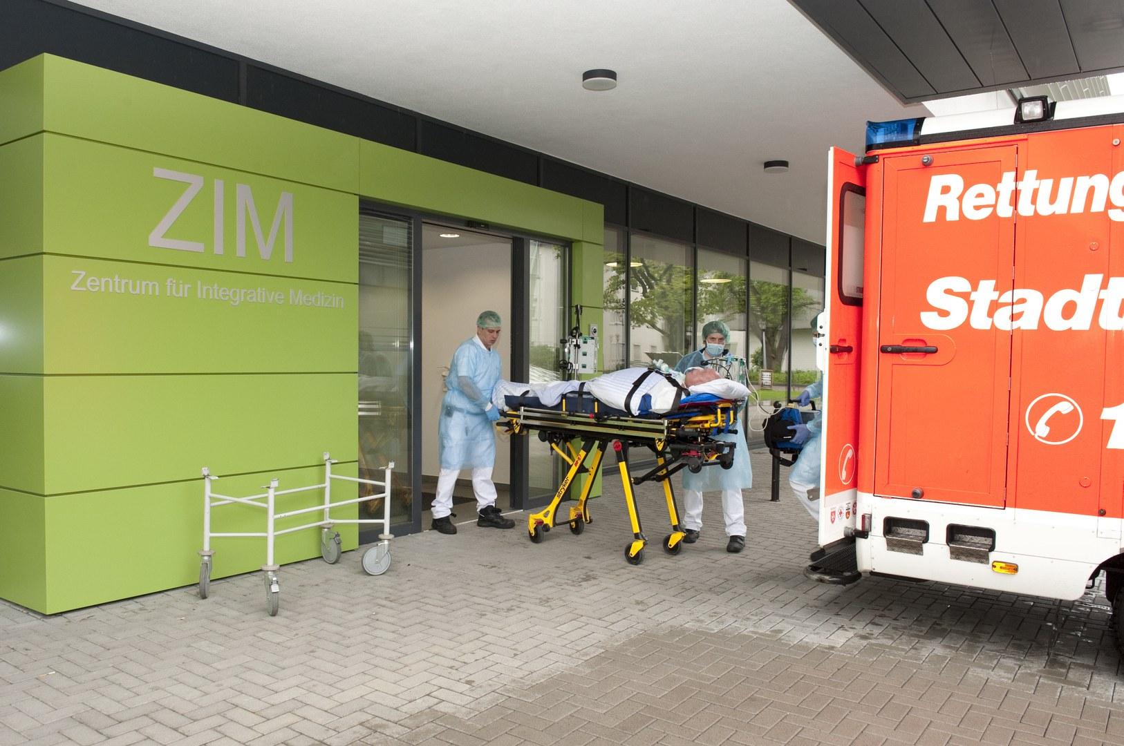 Einzug in das Zentrum für Integrative Medizin (ZIM):