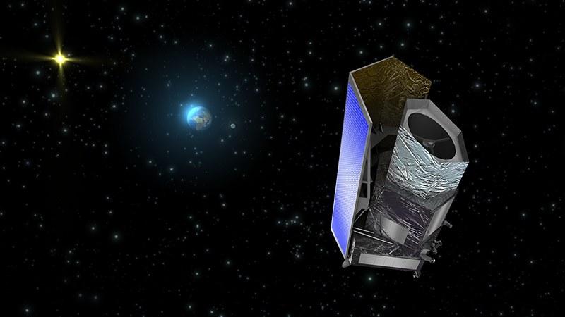 """Der Satellit """"Euclid"""""""